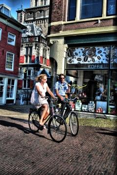 Bikes in Delft